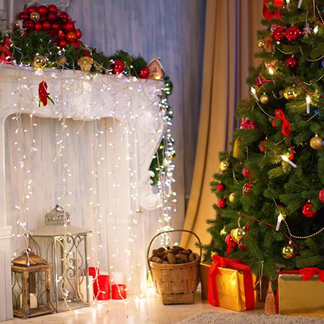Новогодние наряды, декор, украшения