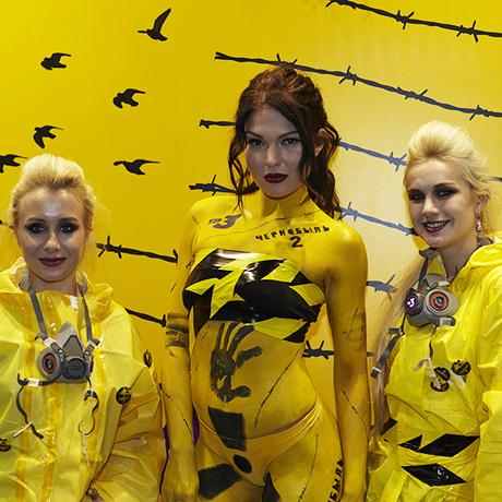 Гоголь, панночки и чернобыльские ликвидаторы: ТВ-3 представил новые проекты на Comic Con Russia.
