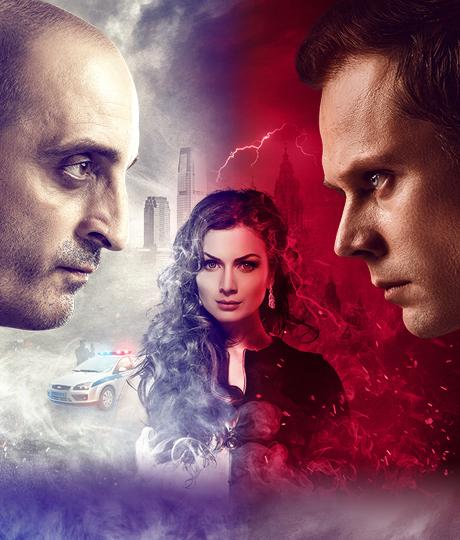 Пятая стража Вампир и его команда детективов раскроют любое преступление.