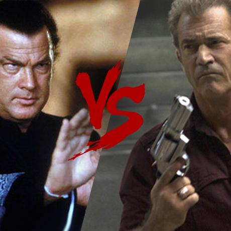 Кинобитва: Стивен Сигал против Мела Гибсона!