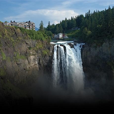 Знаменитый водопад из Твин Пикса. Ты увидишь его снова!